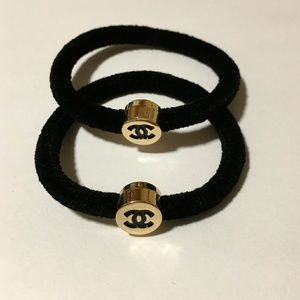 Authentic Chanel VIP hair ties